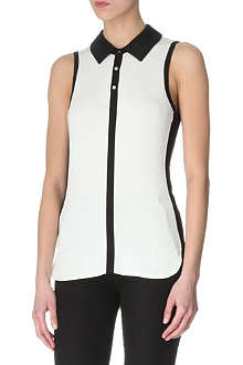 KAREN MILLEN Colourblock vest