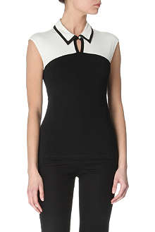 KAREN MILLEN Colourblock top