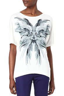 KAREN MILLEN Angel Wing t-shirt