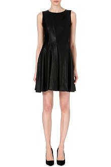 KAREN MILLEN Leather dress