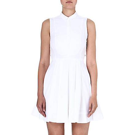 KAREN MILLEN Summer shirt dress (White