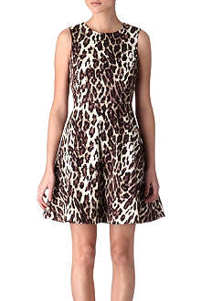 KAREN MILLEN Leopard-print dress