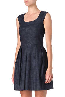 KAREN MILLEN Tailored denim dress