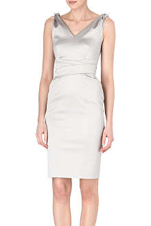 KAREN MILLEN Satin pencil dress