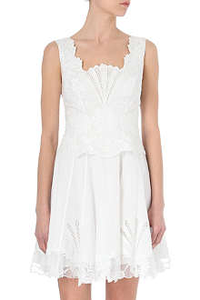KAREN MILLEN Cutwork dress