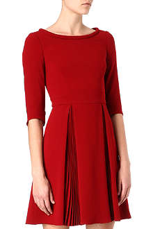 KAREN MILLEN Colourful crepe dress