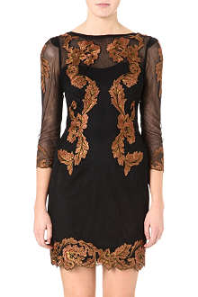 KAREN MILLEN Floral embroidery dress