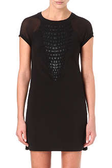 KAREN MILLEN Animal appliqué dress
