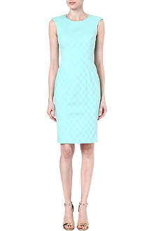 KAREN MILLEN Jacquard stretch-cotton shift dress
