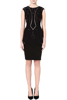 KAREN MILLEN Embroidered cutwork dress