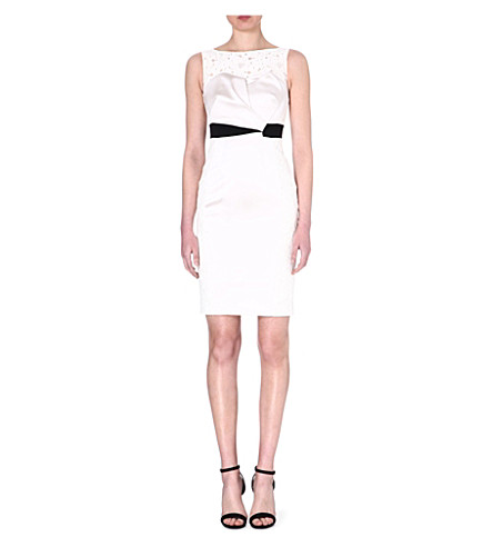 KAREN MILLEN Summer tuxedo dress (Ivory
