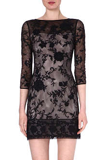 KAREN MILLEN Floral embroidered dress