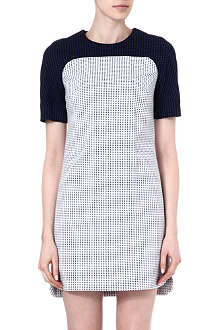 KAREN MILLEN Jacquard-panel dress