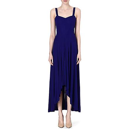 KAREN MILLEN Jersey maxi dress (Blue