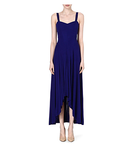 KAREN MILLEN Jersey maxi dress (Blue