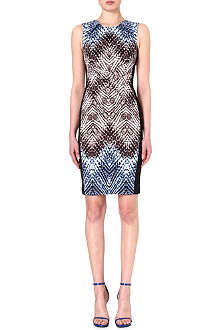 KAREN MILLEN Tribal print shift dress