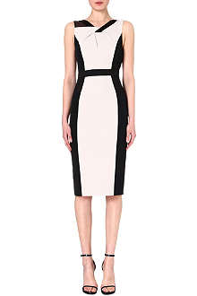 KAREN MILLEN Colour-block shift dress