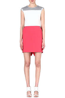 KAREN MILLEN Sporty colour-block dress