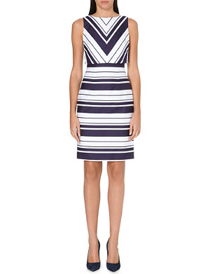 KAREN MILLEN Woven striped dress