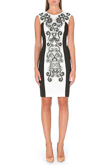 KAREN MILLEN Signature embroidered dress