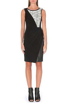 KAREN MILLEN Printed jersey dress
