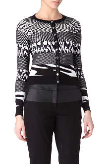 KAREN MILLEN Patterned cardigan