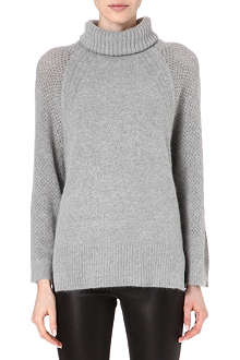 KAREN MILLEN Oversized turtleneck jumper