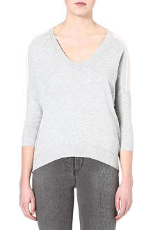 KAREN MILLEN Pointelle knitted jumper