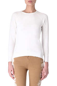 KAREN MILLEN Button-back jumper