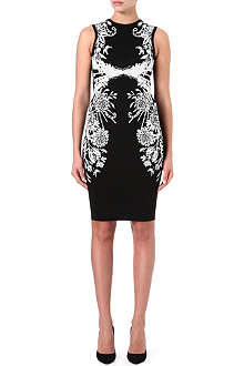 KAREN MILLEN Floral bodycon dress