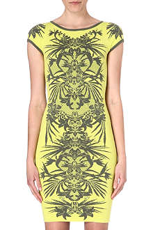 KAREN MILLEN Jungle jacquard dress