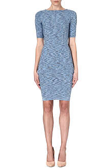 KAREN MILLEN Space dye bandage knit dress