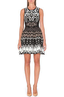 KAREN MILLEN Texture knit dress