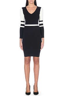 KAREN MILLEN Statement panel dress