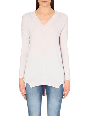 KAREN MILLEN Long line knit tunic