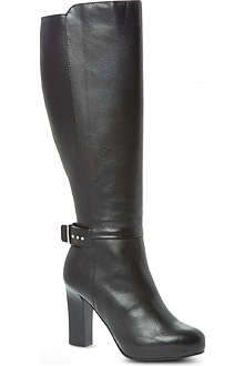 KAREN MILLEN Classic knee-high leather boots