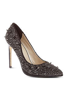 KAREN MILLEN Crystal court shoes