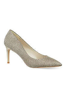 KAREN MILLEN Glitter court shoes