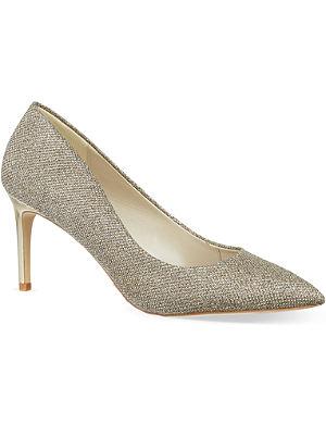 KAREN MILLEN Glitter court shoes