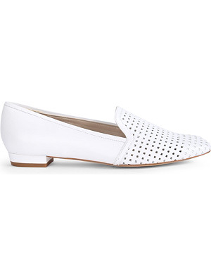KAREN MILLEN Perforated flat slippers