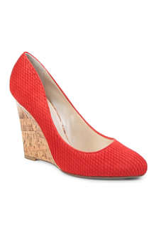 KAREN MILLEN Textured wedge courts
