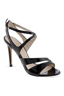 KAREN MILLEN Patent strappy sandals