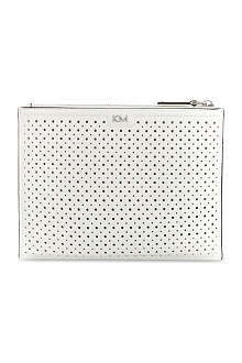KAREN MILLEN Perforated clutch