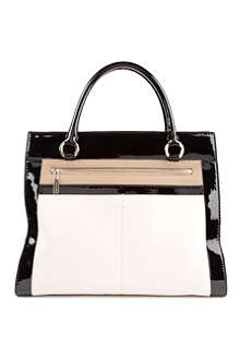 KAREN MILLEN Patent leather shoulder bag