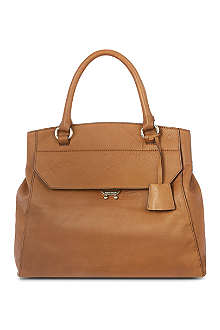 KAREN MILLEN Push lock tote bag