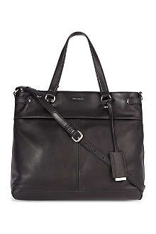 KAREN MILLEN Soft-leather tote