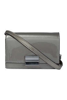 KAREN MILLEN Patent mini bag