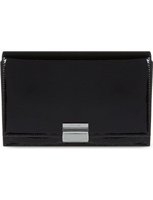 KAREN MILLEN Patent leather clutch