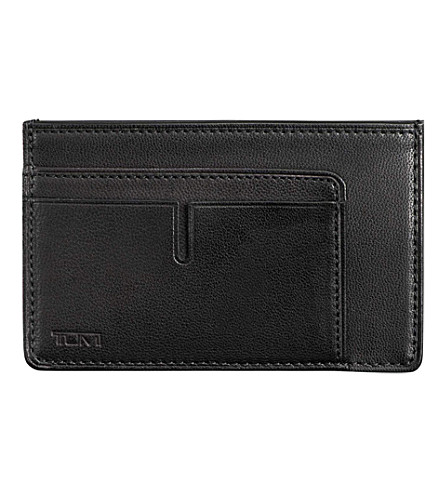 TUMI Chambers long card case (Black