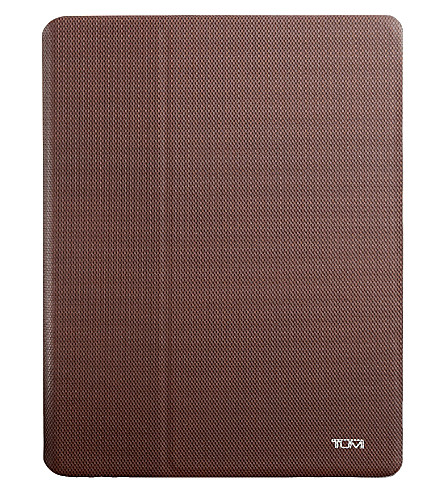 TUMI iPad snap cover (Brown
